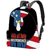 Staroutah sac à dos sac à dos sac à dos sac d'école randonnée sac à dos Haute capacité et mignon en plein air Apprendre Drapeau anglais pour femme et homme
