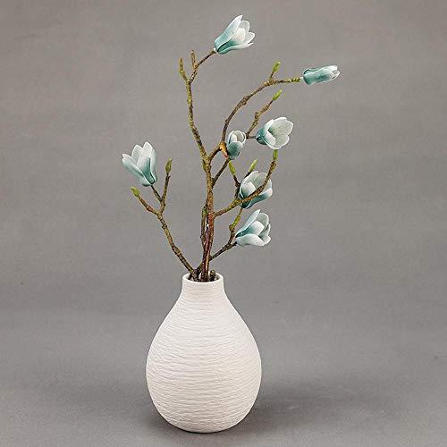 ZUICHU Nep Magnolia Kunstbloemen Set Hydrangea Binnen Buiten Familie Kantoor Bruiloft Zijloop