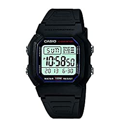 commercial Casio W800H-1AV Classic Men's Sports Watch with Black Strap mens athletic watches