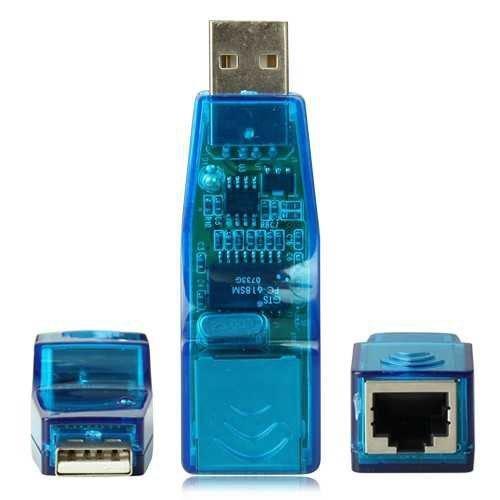 USB LAN Adapter Konverter RJ45 Ethernet Netzwerk 10/100 [PC]