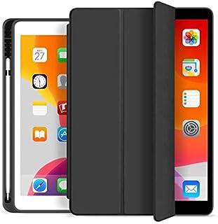 Capa iPad 9.7 2017/2018 / 2019 Wb Antichoque Preta Com Compart. P/Apple Pencil - A1822 / A1823 / A1893 / A1954 / A1673 / A...