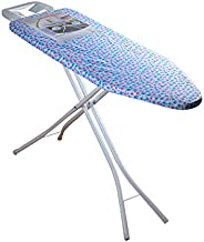 Bister Wide Adjustable Height Ironing Stand & Folding Ironing Board with TC Cover ASSORTED COLOR