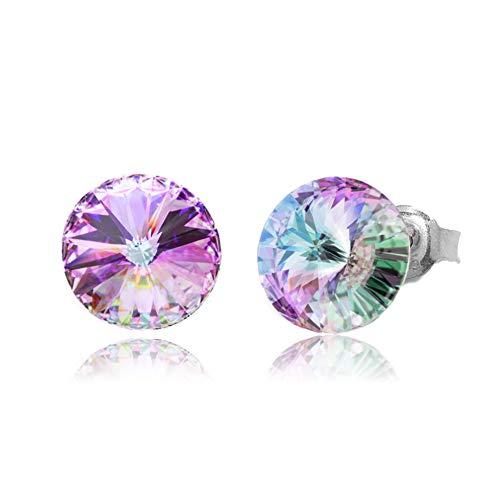 スパーク スワロフスキー 製 クリスタル 一粒 ピアス レディース 女性 誕生日 お祝い プレゼント Pierce Swarovski Crystals 正規 ヴィトレールライト K1122SS39VL