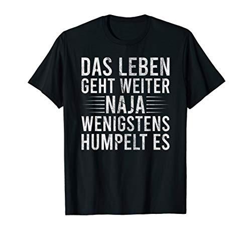 Humpeln Krücken Spruch - Meniskusriss Kreuzbandriss Geschenk T-Shirt