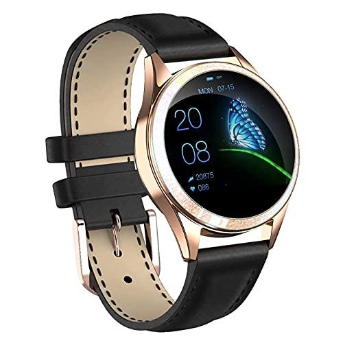 zyz KW20 Smart Watch Ladies, Monitor De Ritmo Cardíaco para Dormir, Actividad Fitness Tracker, Pulsera Impermeable IP68,D