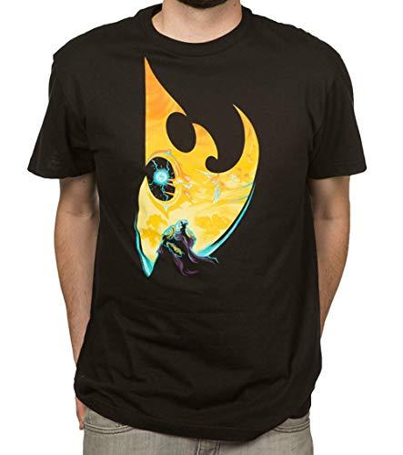 Starcraft II Protoss Silhouette Adult T-Shirt - Video Game