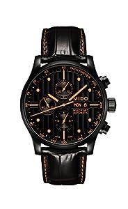 Mido Men's MIDO-M0056143605122 Multifort Analog Display Swiss Automatic Black Watch