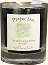 Crystal Journey Herbal Magic Glass Filled Votive Candle - Protection