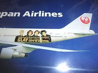 なGLAY JAL機 EXPO'99 SURVIVALのクリアファイル