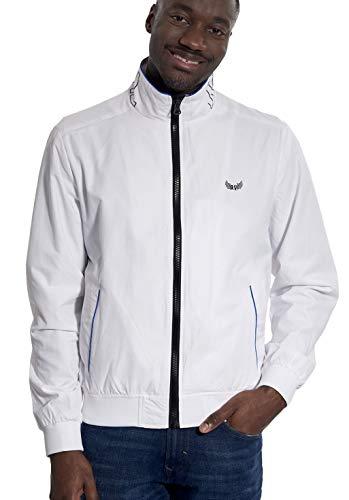 KAPORAL5 Herren Cofer Jacke, Weiß (White White), Large