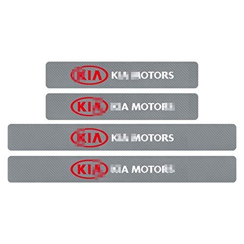 Para Kia Ceed Río Sportage R K3 K4 K5 De Fibra Carbono...