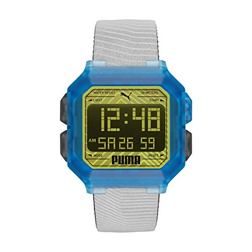 Puma Remix P5038 Reloj Digital para Hombres