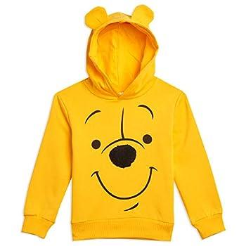 Disney Winnie the Pooh Toddler Boys Long Sleeve Fleece Pullover Costume Hoodie 3T