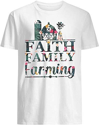Micerice Faith Family Farming blommig T-shirt