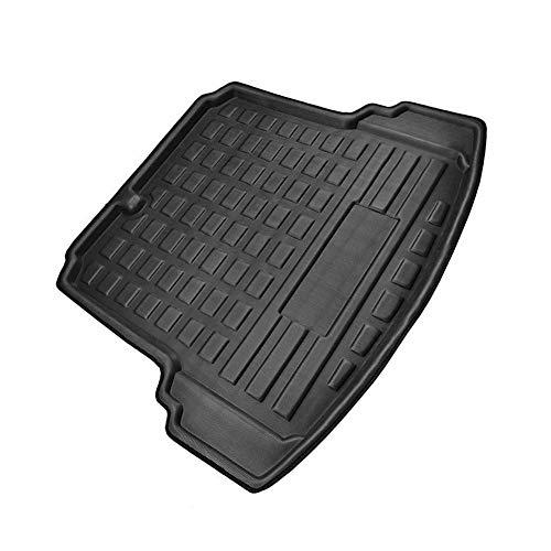 YuQiLin Koffer-Hinterkofferraum-Cargo-Matt-Boot-Liner-Boden-Teppich-Tablett/Fit für -für VW Jetta MK6 / 2011/2012/2013/2014/2012/2016/2017/2013 2018