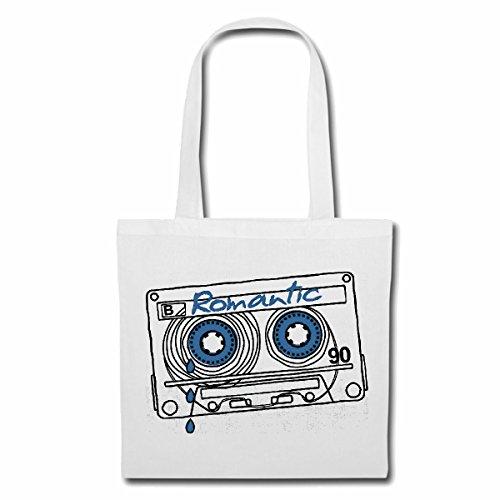 Bolsillo Bolso Bolsa ROMÁNTICO casete de música GRABADORA RETRO BAND JAZZ ENSALADA TECHNO TRANCE DJ cobarde ALMA CASA FESTIVAL DE HIP HOP HIPHOP Bolsa de deporte Bolsas de Blanco