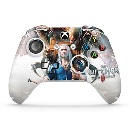 Skin Adesivo para Xbox One Slim X Controle - The Witcher 3 Blood And Wine