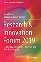 Research & Innovation Forum 2019: Technology, Innovation, Education, and their Social Impact (Springer Proceedings in Complexity)