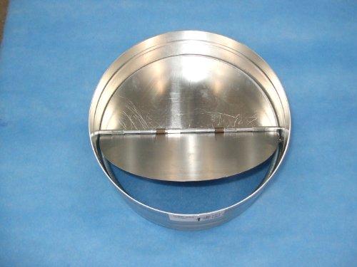 Diamètre : 250 mm clapet anti-retour électrique arrière en acier galvanisé, conduit Fantronix Chambre de culture