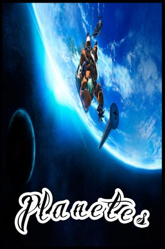 Planetes NOTEBOOK: ANIME AND MANGA School Notebook Journal (120 lined pages with Size 6x9 inches)