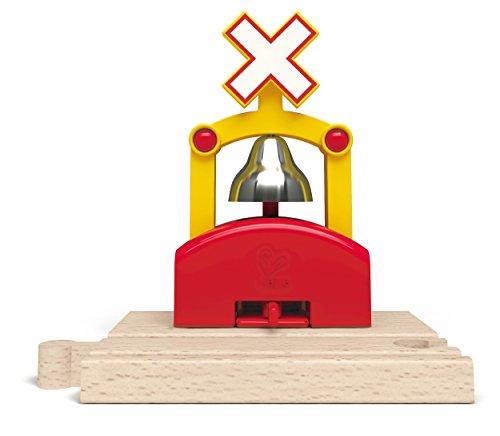 Hape E3706 Railway Spielzeug-Automatisches Eisenbahn-Glockensignal
