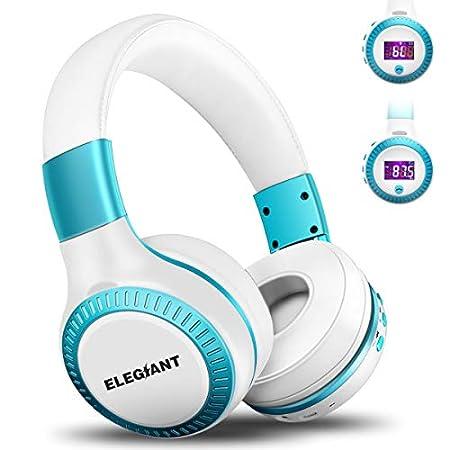 【本日最終日】ELEGIANT FMラジオ/TFカード機能搭載折り畳み式Bluetoothヘッドフォン 999円!2000円以上 or プライム会員は送料無料!【デザインよし?】
