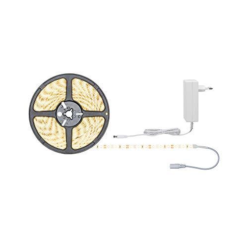 Paulmann 78973 SimpLED Strip Set 7,5 m LED Stripe 20W Lichtstreifen 3.000 K Warmweiß Lichtband beschichtet