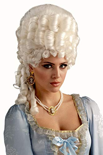 Forum Novelties Platinum Marie Antoinette Victorian Adult Costume Wig
