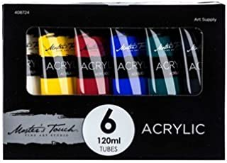 Master's Touch 6-Color Acrylic Paint Set