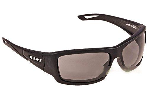 ESS Sunglasses Credence Black Frame Smoke Gray Lens EE9015-04 Military