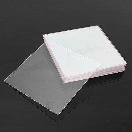 SONSAN - Lámina de plástico duro termoformadora para herramientas dentales de formación de vacío (20 unidades, 1,0 mm)
