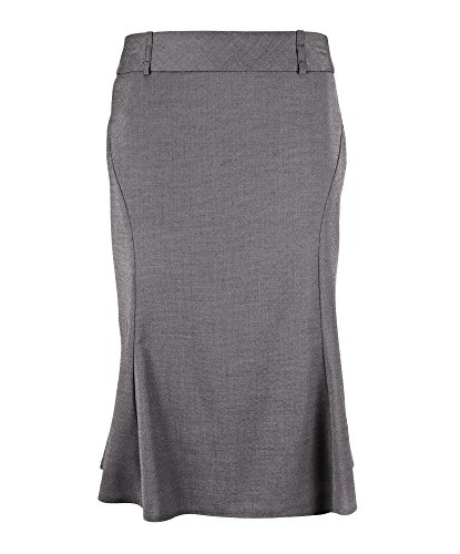 Alexandra Icona stc-nf15pg-26 uitgestelde rok, Uni, 77% polyester/21% viscose/2% elastaan, maat 26, pale grijs