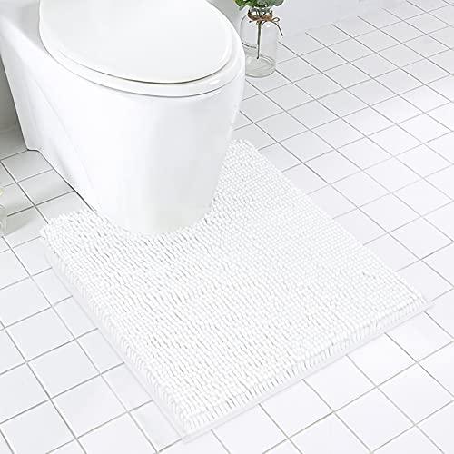 MAYSHINE Non Slip Contour Bath Mats for Toilet