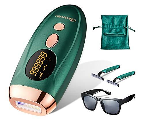 IPL Haarentfernungsgerät für Körper und Gesicht, permanente haarentfernung Mit LCD-Bildschirm, Gebrauch zu Hause für Frauen und Männer, 999,999 Blitze Geeignet für Körper und Gesicht