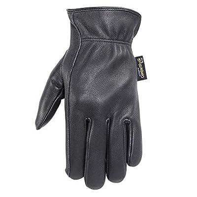 Wells Lamont Men's ComfortHyde Drivers Gloves, Full Grain Leather