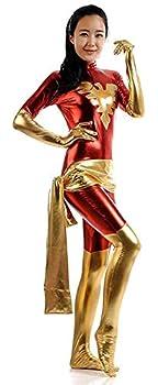 VSVO Dark Phoenix Cosplay Costume X-Men Jean Grey Bodysuit  Medium Red