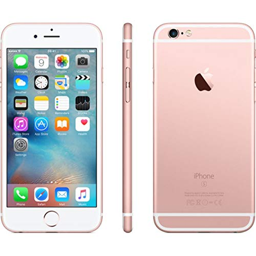 "iPhoneCPO Apple iPhone 6s 11,9 cm (4.7"") 1 GB 64 GB SIM única 4G Oro Rosa Renovado 1715 mAh - Smartphone (11,9 cm (4.7""), 1 GB, 64 GB, 12 MP, iOS 9, Oro Rosa)"