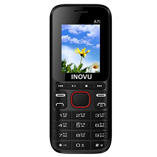Inovu A7i Dual Sim Feature Mobile Phone With 1000 MAh Batte Rs. 630  ( 42%  Discount).