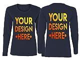 Custom Long Sleeve Shirts for Women - Make Your OWN...