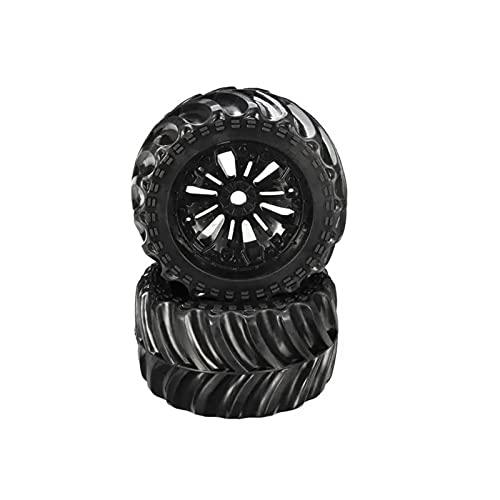 DLH Bigfoot Rueda neumático neumático EA1020 para 1/10 Accesorios de Piezas de Coche RC sin escobillas (Color : Style1)