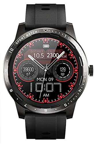 Reloj Inteligente De Moda Reloj Deportivo Inteligente Reloj Rastreador De Ejercicios Medidas De Temperatura Corporal Monitoreo De Salud Reloj Despertador Reloj Inteligente