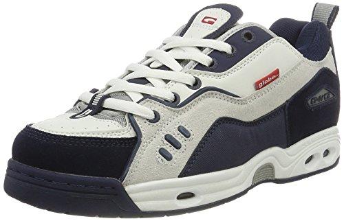 Globe CT-IV Classic, Zapatillas de Skateboarding para Hombre, Blanco (White/Blue 0), 43 EU