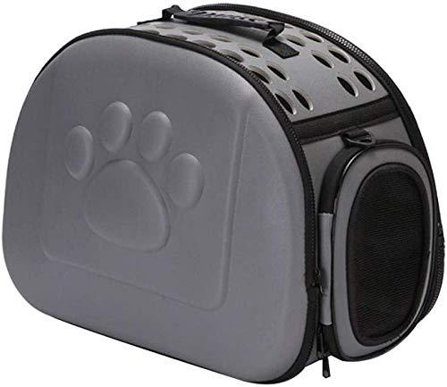 ZZQ Cat Carrier Bag transporttas voor honden buiten opvouwbaar Eva Pet hondenhut hondenhut outdoor reistas schoudertas voor kleine honden
