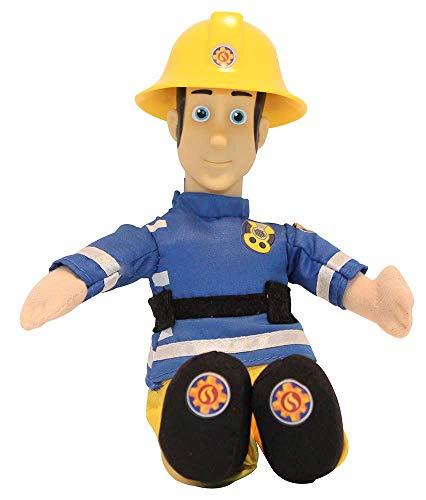 Simba Feuerwehrmann Sam 25 cm Plüschfiguren zur Serie, zum Spielen und Sammeln für Kinder (Elvis Cridlington)