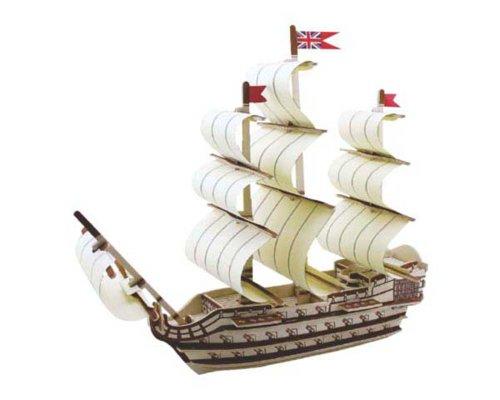 3D-Puzzle Segelschiff Victory