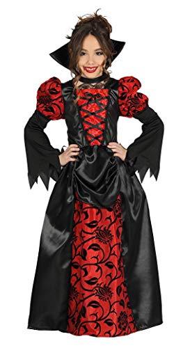 Guirca- Disfraz vampiresa, Talla 10-12 aos (87397.0)
