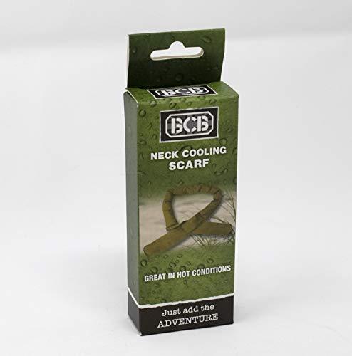 Bushcraft BCB - Sciarpa rinfrescante per Collo, Taglia Unica, Colore: Cachi
