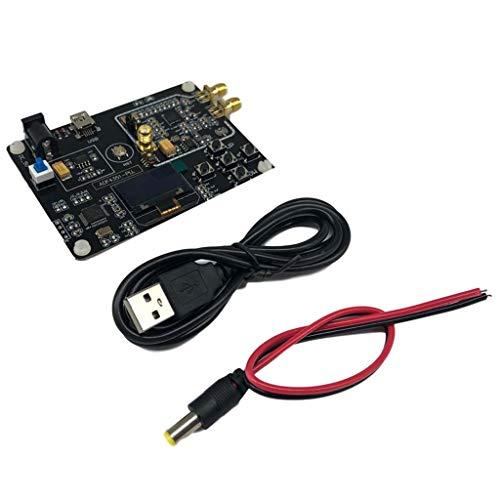 Incdnn Générateur de signal RF 35M-4.4G ADF4351 Sweep Frequency Module d'affichage OLED + câble nettoyant anti-moisissures pour carrelage...
