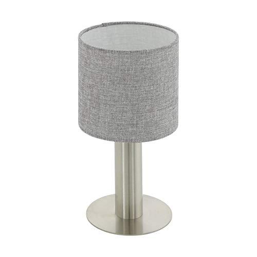 Preisvergleich Produktbild EGLO CONCESSA 2 Tischleuchte,  Stahl,  60 W,  nickel-matt