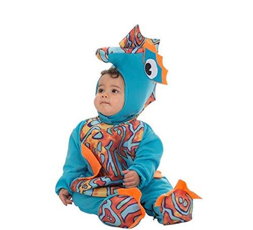 NINES D'ONIL EXPORT, SL Disfraz de Caballito de Mar Pelele para bebé B (10 Meses)